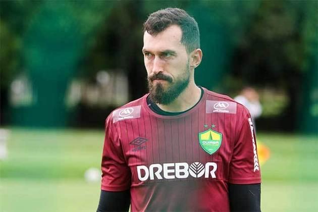 Walter – goleiro – 33 anos – emprestado ao Cuiabá até dezembro de 2021 – contrato com o Corinthians até dezembro de 2021