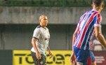 O atacante estava atuando pelo Vitória, clube em que também representou nas categorias de base, em 2004