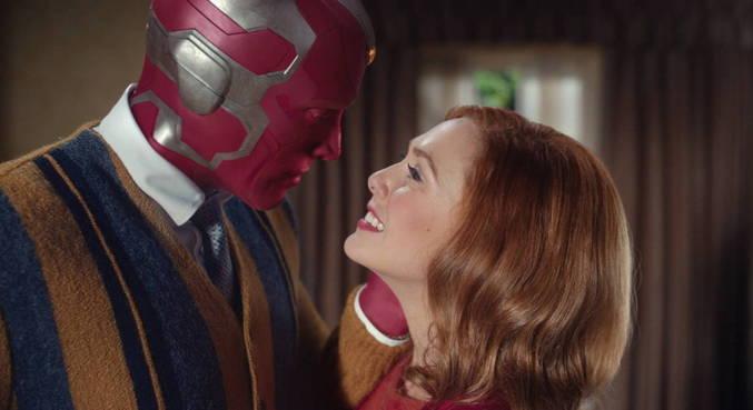 Elizabeth Olsen e Paul Bettany são os protagonistas da série 'WandaVision'