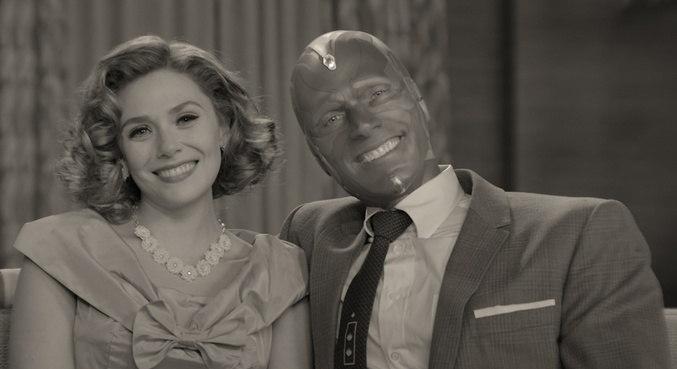 Wanda e Visão recriam casais clássicos de séries de comédia antigas