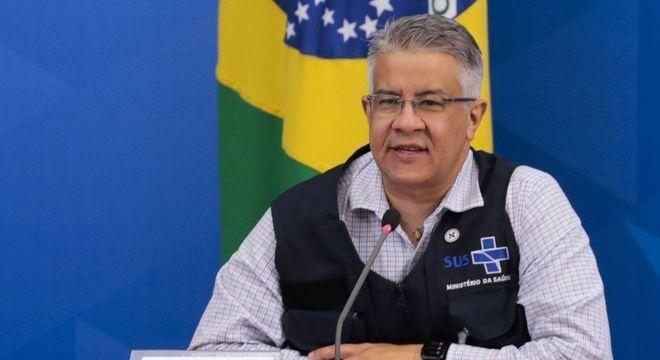Na imagem, secretário de Vigilância, Wanderson Oliveira