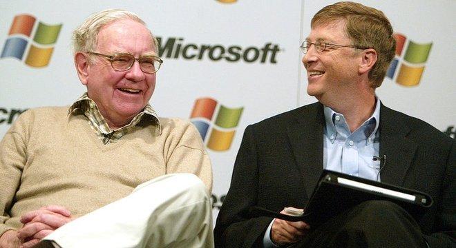 Warren Buffett e Bill Gates são amigos graças a Mary