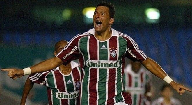 Washington durante sua passagem pelo Fluminense