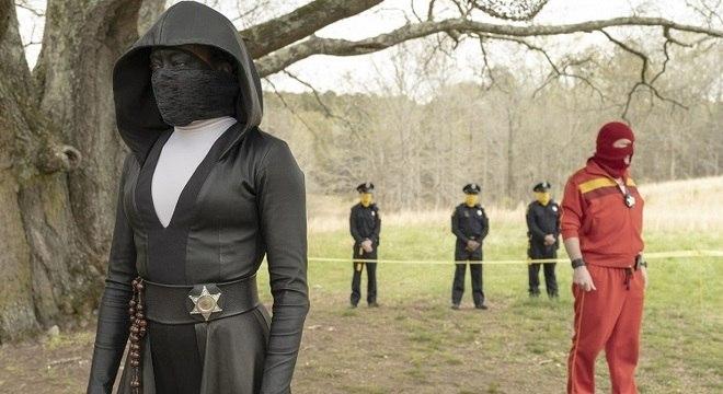 Regina King em foto de divulgação de 'Watchmen', da HBO