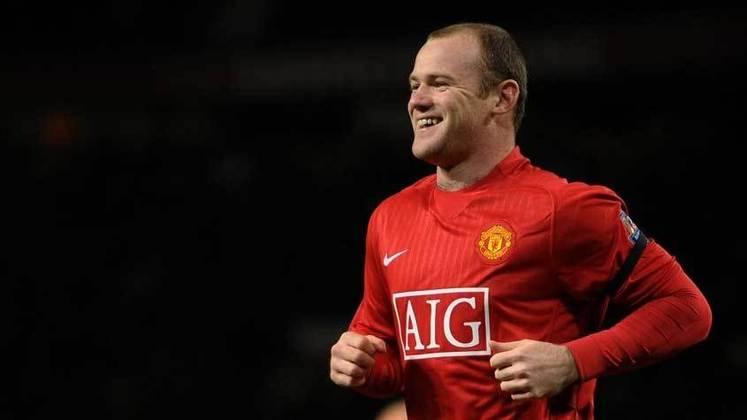 Wayne Rooney - inglês é ídolo dos Diabos Vermelhos, e foi destaque neste século. Hoje está aposentado.