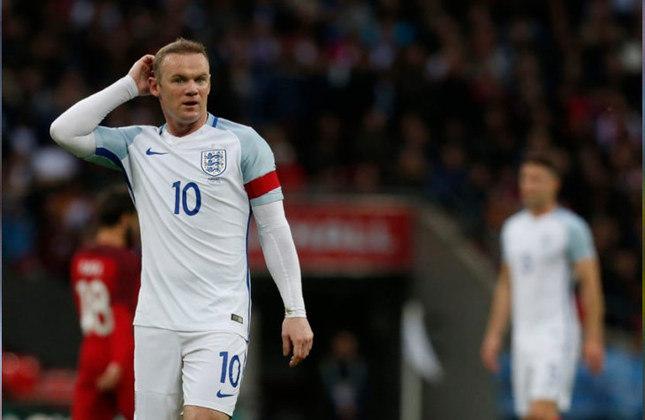 Wayne Rooney - O ídolo dos Red Devils e da Inglaterra balançou as redes dos adversários em seis oportunidades em suas 10 partidas disputadas