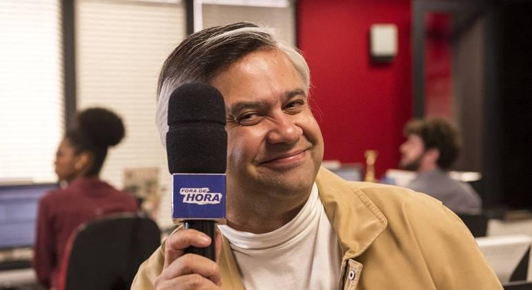 O humorista Welder Rodrigues, da Globo