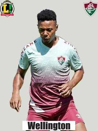 Wellington: 5,5 - O jogador recebeu a chance de Roger Machado para começar no time titular do Fluminense, porém, não soube aproveitar. Muito preso no circulo central, mostrou lentidão para rodar a bola e pouco arriscou passes verticais.