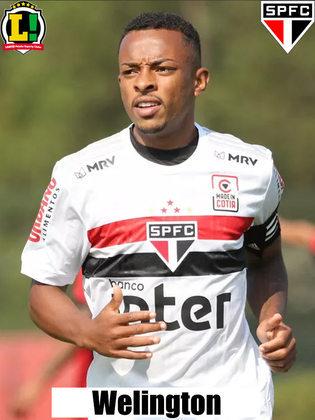 Wellington - 6,0: Substituiu Reinaldo a altura e deu bela assistência para o primeiro gol da equipe.