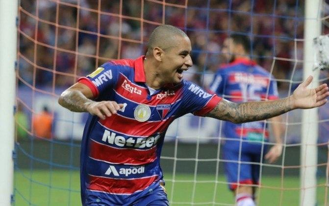 Wellington Paulista, do Fortaleza, tem 36 anos e contrato com o clube até maio de 2021.