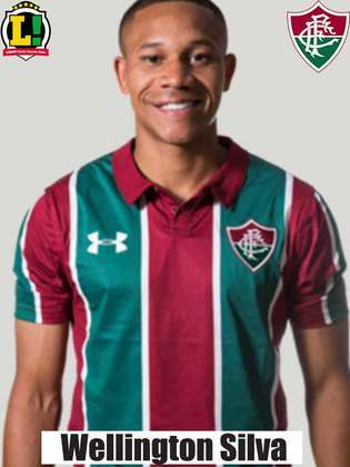 Wellington Silva - 5,0 - O atacante arriscou algumas jogadas individuais na ponta esquerda, mas não teve sucesso.  Não conseguiu criar boas oportunidades para o Fluminense e acabou substituído no intervalo da partida por Felippe Cardoso.
