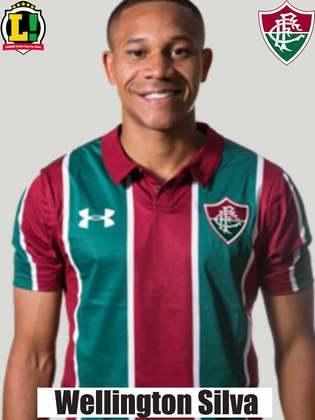 Wellington Silva: 5,0 – Tem como o forte a velocidade e não conseguiu explorar em nenhum lance.