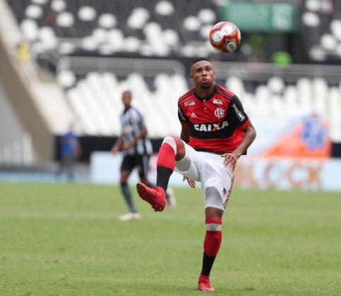 Wendel (19 anos) - Relacionado em 4 jogos / Atuou contra: Macaé, Vasco e Fluminense