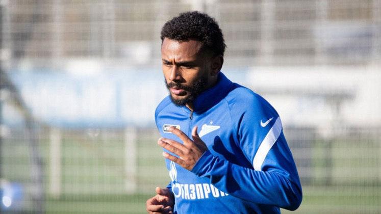 Wendel: o meia do Zenit abriu o placar na vitória da equipe diante do Akhmat Grozny.