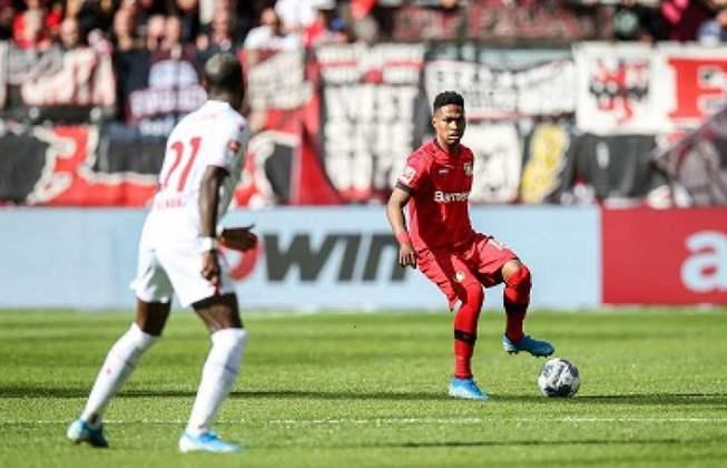 Wendell - Time: Bayer Leverkusen (Alemanha) - Posição: Lateral-esquerdo - Idade: 27 anos - Contrato até: 30/06/2022
