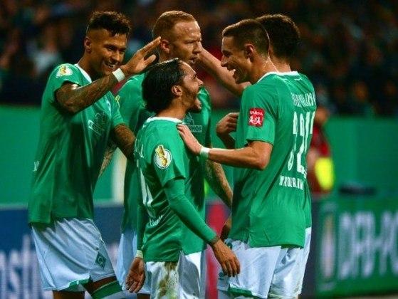 Werder Bremen- Pontos: 18 / Jogos: 24 / Vitórias: 4/ Empates: 6 / Derrotas: 14 / Gols: 27