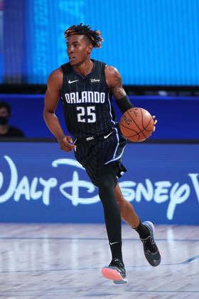 Wes Iwundu (Orlando Magic) 5,5 - Em 12 minutos, Iwundu contribuiu com quatro pontos e três rebotes