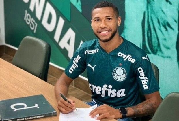 Wesley, atacante do Palmeiras, tem apenas 21 anos e um contrato até dezembro de 2024. Seu valor de mercado é de 2,3 milhões de euros (R$ 15 milhões).