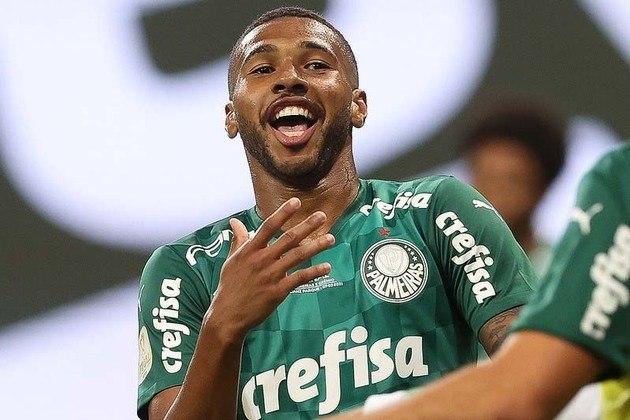 Wesley - Atacante - Palmeiras - 21 anos - No meio de 2020, o City Group fez consultas ao Palmeiras sobre Wesley, só que não enviou uma proposta oficial