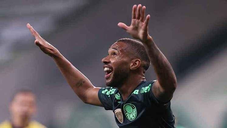 Wesley - Atacante - Palmeiras - Valor segundo o Transfermarkt: 5,5 milhões de euros (aproximadamente R$ 34,49 milhões)
