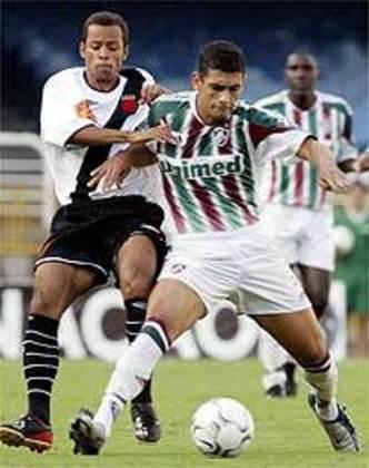 Wesley - estreou em 2004 - 5 jogos e 0 gols pelo Vasco - Encerrou a carreira profissional em 2006