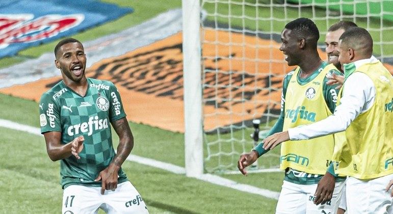 Wesley marcou o primeiro gol da decisão. Palmeiras consegue a Tríplice Coroa depois de 27 anos