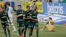 Wesley faz dois e comanda vitória do Palmeiras sobre a Chapecoense