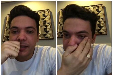 Sertanejo chorou ao dar sua versão dos fatos