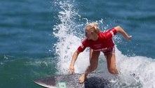Tati perde para pentacampeã e é vice do Mundial de Surfe