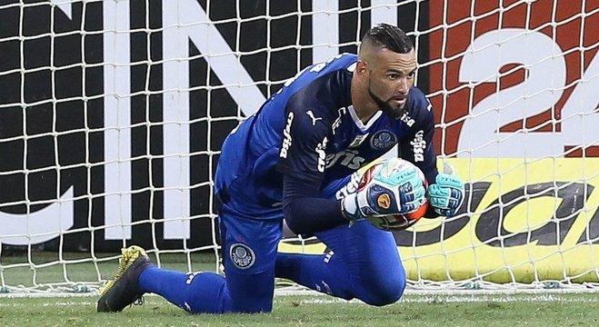 Weverton assumiu o gol do Palmeiras, sem contestação. E ótimas atuações