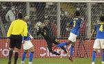Weverton, Chile x Brasil, Eliminatórias da Copa 2022
