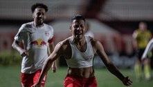 Bragantino vence o Atlético-GO e dispara na liderança do Brasileirão