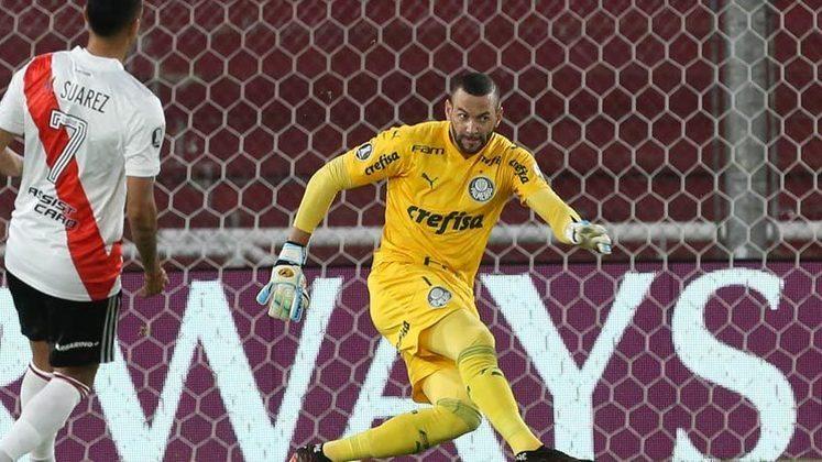 Weverton - goleiro - Palmeiras