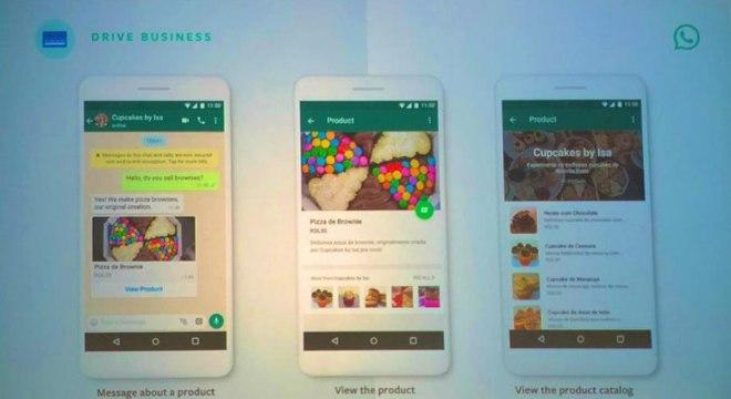 Compartilhamento de catálogo de produtos pelo WhatsApp Business