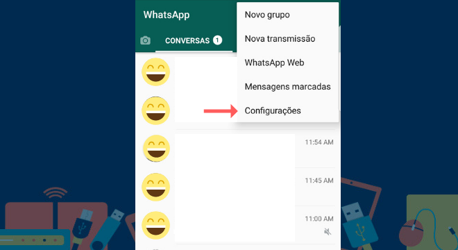 espiar hora whatsapp