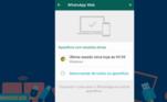 Para garantir, o usuário pode também desconectar o WhatsApp Web através do celular. Acesse o menu na parte superior direita do aplicativo, e depois acesse a aba 'WhatsApp Web'. Após esse procedimento, escolha a opção de se desligar de um ou mais computadores
