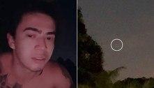 Whindersson Nunes viraliza imagem que ele diz ser de OVNI!