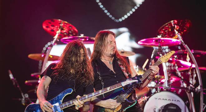 Whitesnake faz show sólido e arrisca novidades no Rock in Rio 2019