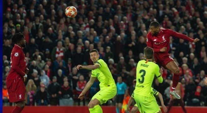 Wijnaldum, Liverpool 1 X 0