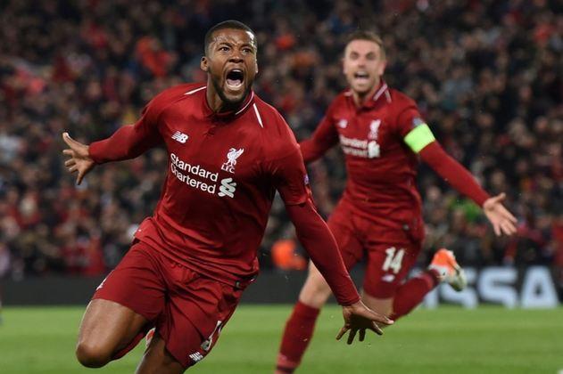 Wijnaldum (30 anos) - Clube atual: Liverpool - Posição: volante - Valor de mercado: 40 milhões de euros