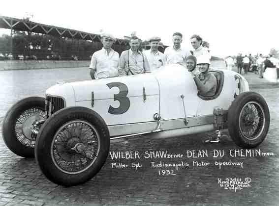 Wilbur Shaw foi vencedor da Indy 500 em 1937, 1939 e 1940