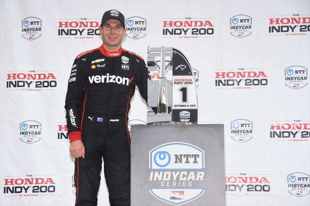 Will Power venceu o GP de Mid-Ohio 1. Newgarden foi segundo, Dixon completou em 10º