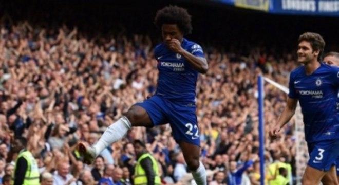 William quer ficar no Chelsea