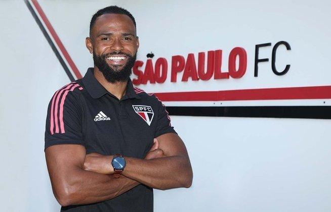 William - contratado nesta temporada, o volante de 34 anos tem contrato com o São Paulo até dezembro desse ano.