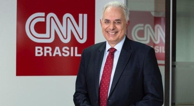 Waack foi contratado pela CNN em 2019