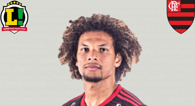 WILLIAN ARÃO - 6,0 - O total domínio do Flamengo fez o camisa 5 ter papel fundamental na saída de bola. Além disso, foi bem nas recuperações e nas viradas de jogo, e ainda quebrou um galho de zagueiro no fim.