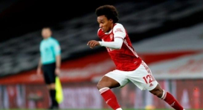 Willian foi defendido pelo seu clube, o Arsenal