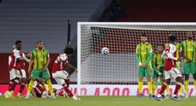 Willian - Arsenal x West Brom