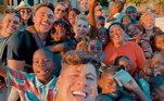 O casal também fundou a ONG Baluarte, que ajuda crianças que passam por necessidades em Angola, na África