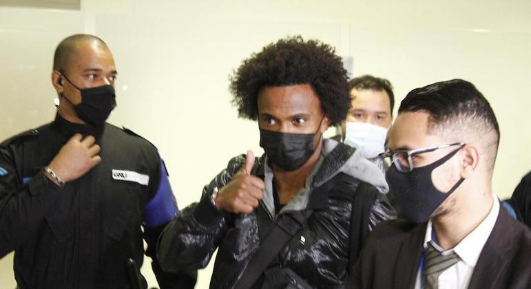 Willian deixou o Corinthians em 2007, quando foi negociado com o Shakhtar Donetsk